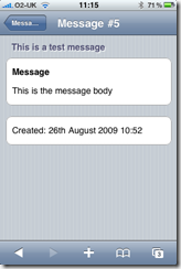 Unfuddle for iPhone