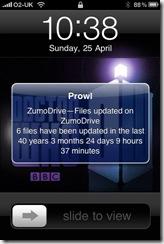 The Long Memory of Zumodrive