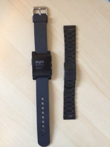 Adding a New Strap to a Pebble Watch