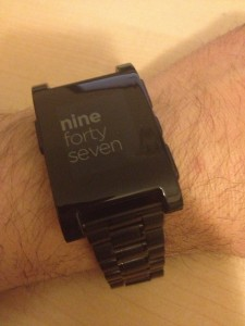 My First Two Weeks with the Pebble Watch