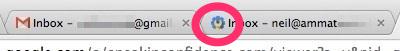 Odd Favicon appearing in Google Apps
